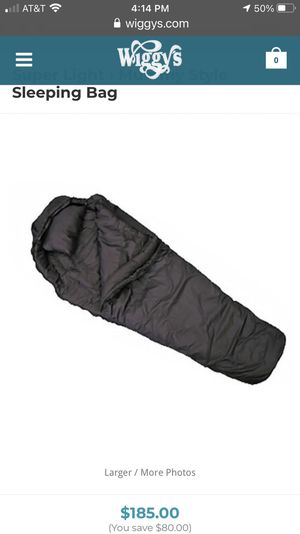 Wiggly's Sleeping Bag System for Sale in Moreno Valley, CA