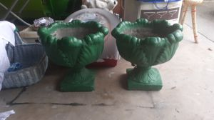 Awesome cement fountain planters for Sale in St. Petersburg, FL