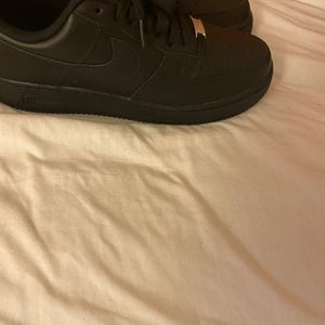 Black air force size 9 for Sale in Novato, CA