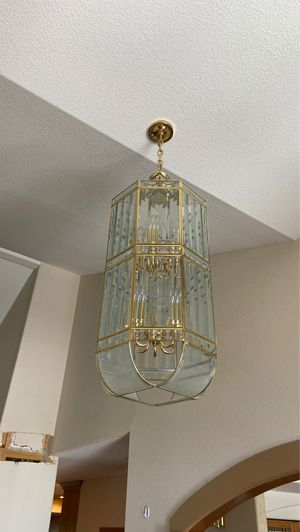 Glass chandelier for Sale in Denver, CO
