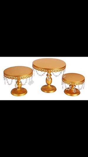 Cake and Candle Holder, and Table Decor for Sale in Herndon, VA