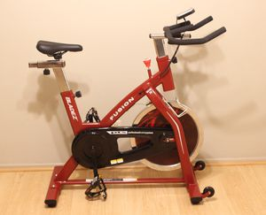 Bladez Fitness Fusion GS II Spin Bike Indoor Stationary Exercise Bicycle Cycling Trainer Upright for Sale in San Dimas, CA