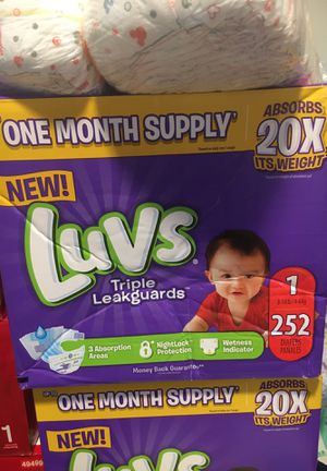 Luvs pampers size 1 for Sale in Bloomfield, CT