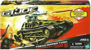 G.I. Joe Retaliation Tread Ripper Tank Vehicle with Missile Launching Cannon for Sale in Rowland Heights, CA