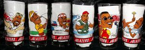 Trailblazers collectible glass set 1992-93 stored in mint condition. for Sale in Portland, OR