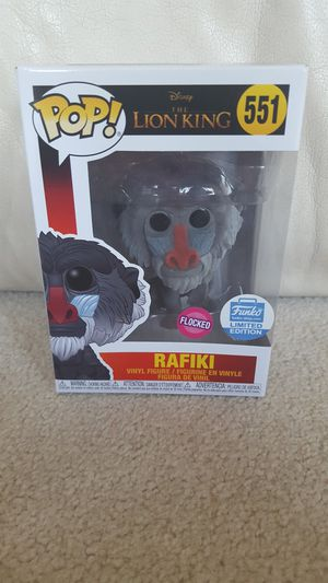 Funko Pop! RAFIKI Flocked The Lion King Disney Vinyl #551 Funko Shop Exclusive for Sale in Los Angeles, CA