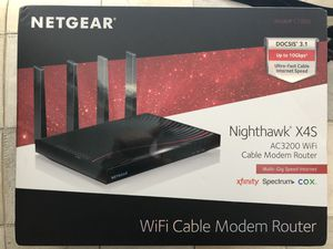 NetGear Nighthawk Modem/Router X4S New In Box Docs 3.1 for Sale in Dublin, OH