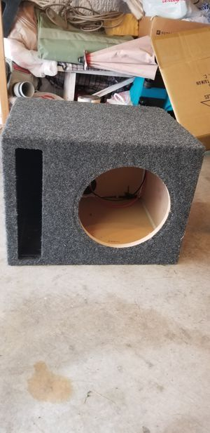Subwoofer Enclosure 10inch for Sale in Maple Valley, WA