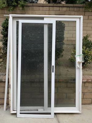 "Sliding glass door 57""x78"" for Sale in Upland, CA"