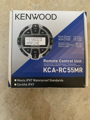 Kenwood Marine remote control unit for Sale in Downey, CA