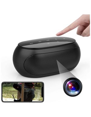Wireless Hidden Camera Bluetooth Speaker WiFi Spy Camera, 1080P Security Cam Baby Monitor with Motion Detection Alarm and Night Vision, Real Time Vie for Sale in Norco, CA
