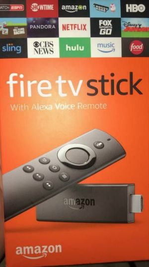 Fire TV stick fully programed get all sports and movies and TV shows super fast for Sale in HUNTINGTN BCH, CA