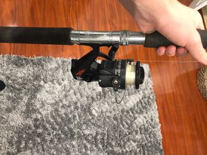 Fishing rod and reel for Sale in Hollywood, FL