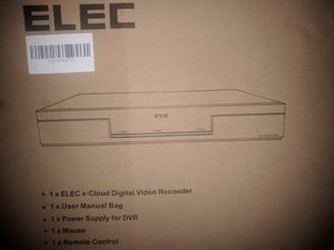 Alec 8 channel DVR e cloud digital video recorder for Sale in Groves, TX