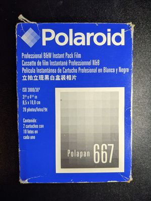 Polaroid Polapan 667 Film (expired) for Sale in Portland, OR