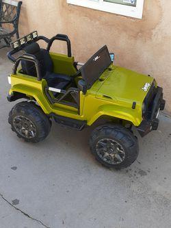 Free Jeep Powerwheel for Sale in San Bernardino,  CA