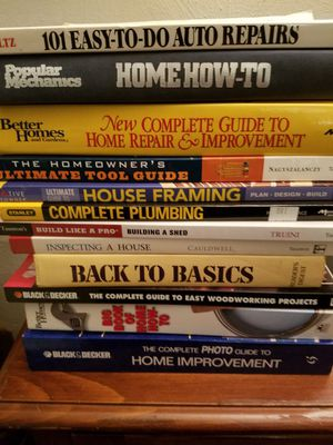 12 Home / Car Repair Books for Sale in Virginia Beach, VA
