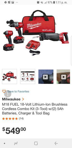 Milwauke fuel for Sale in Austin, TX