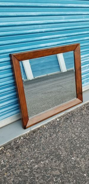 Aspen Home Mirror. Can be hung on a wall but also has the support sticks if you want to attach it for Sale in Phoenix, AZ