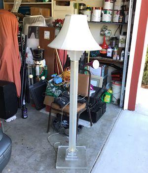 Acrylic floor lamp for Sale in San Diego, CA