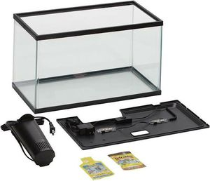 Aqua Culture Aquarium Starter Kit With LED, 10 gallons for Sale in Cheyenne, WY