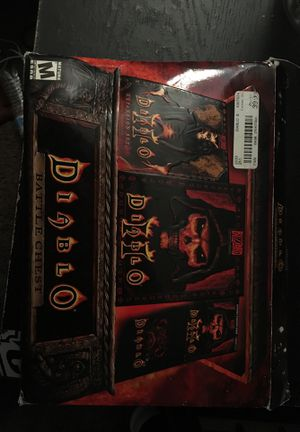 Diablo battle chest for Sale in Chula Vista, CA