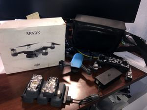 DJI Spark Drone | 5 batteries! Hardly used.. for Sale in Tempe, AZ