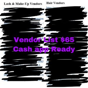 Vendors List for Sale in St. Louis, MO
