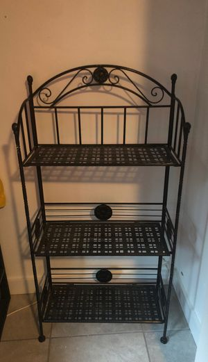 Metal Storage Rack for Sale in Seattle, WA