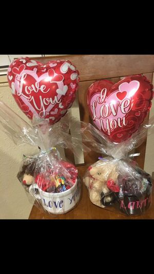 Get your valentines baskets today for Sale in Odessa, TX