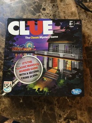 Clue board game ! for Sale in Portland, OR