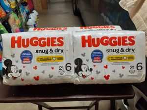 Huggies size 6 for Sale in Cape Coral, FL