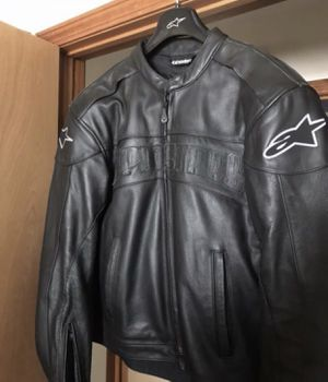 Alpinestars Leather Motorcycle Jacket for Sale in Norwalk, OH