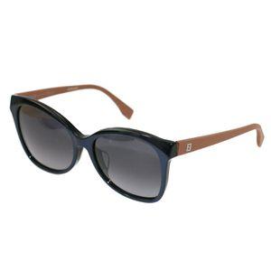 Fendi Women's Sunglasses FF0043/F/S MHH/HD Blue/Brown 56 17 140 Full Rim for Sale in North Miami Beach, FL
