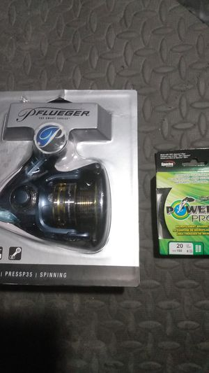 Fishing reel fishing line for Sale in Moreno Valley, CA
