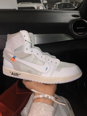 Jordan 1 off white Euro for Sale in Los Angeles, CA