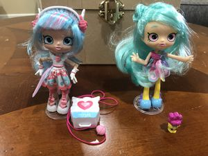 2 shopkins doll for Sale in Visalia, CA