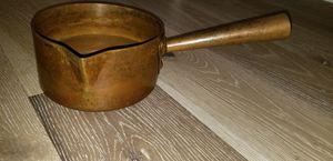 Mauviel Copper Sugar Pot-2quart-France-Williams Sonoma for Sale in Scottsdale, AZ