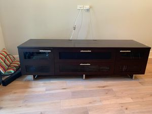 Large Size TV console and media stand for Sale in Chicago, IL
