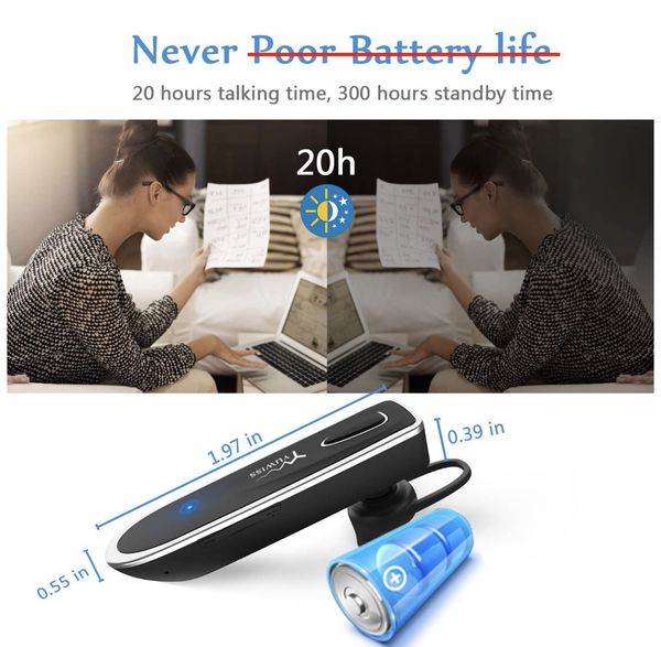 Bluetooth Earpiece for Cell Phone