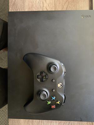 Xbox One X & Wireless Turtle Beach Headset for Sale in Riverside, CA