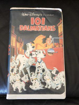 Disney 101 Dalmatians Black Diamond vhs Collectible for Sale in Los Angeles, CA