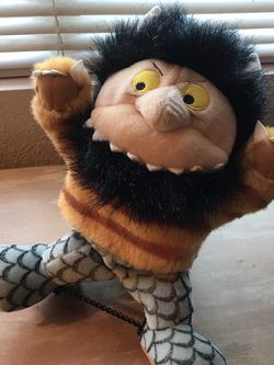 Where The Wild Things Are Carol Hand Puppet for Sale in Martinez,  CA