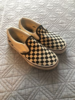 Vans size 1.5 my son only wore them twice. They're in great condition. for Sale in Los Angeles, CA