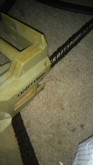 craftsman chainsaw for Sale in Southgate, MI