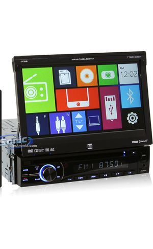 "DUAL CAR STEREO -CD-DVD-BLUETOOTH-7"" TOUCHSCREEN LCD for Sale in Anaheim, CA"