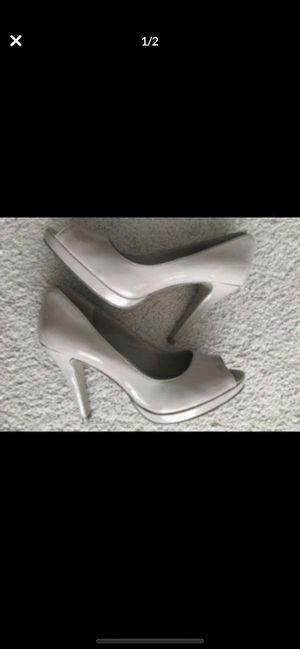 Nine West size 9 beige heels, excellent condition for Sale in Woodbridge, VA