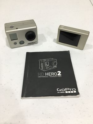 GoPro HERO 2 (*w/ LCD BacPac) for Sale in Houston, TX
