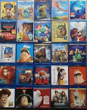 25 Basically New Disney Blu-Ray for Sale in Wetumpka, AL