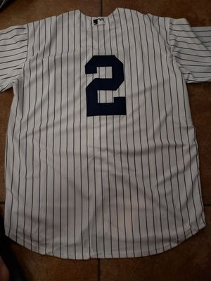 NEW YORK YANKEES DEREK JETER JERSEY SIZE LARGE for Sale in Colton, CA